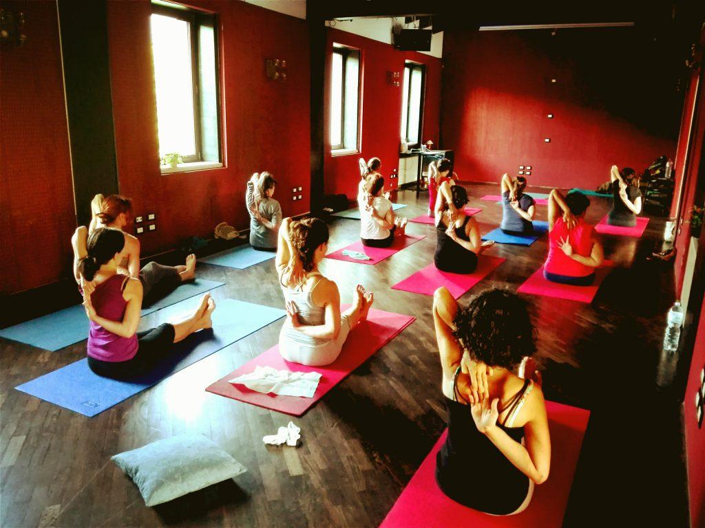 Corso di yoga a Brescia