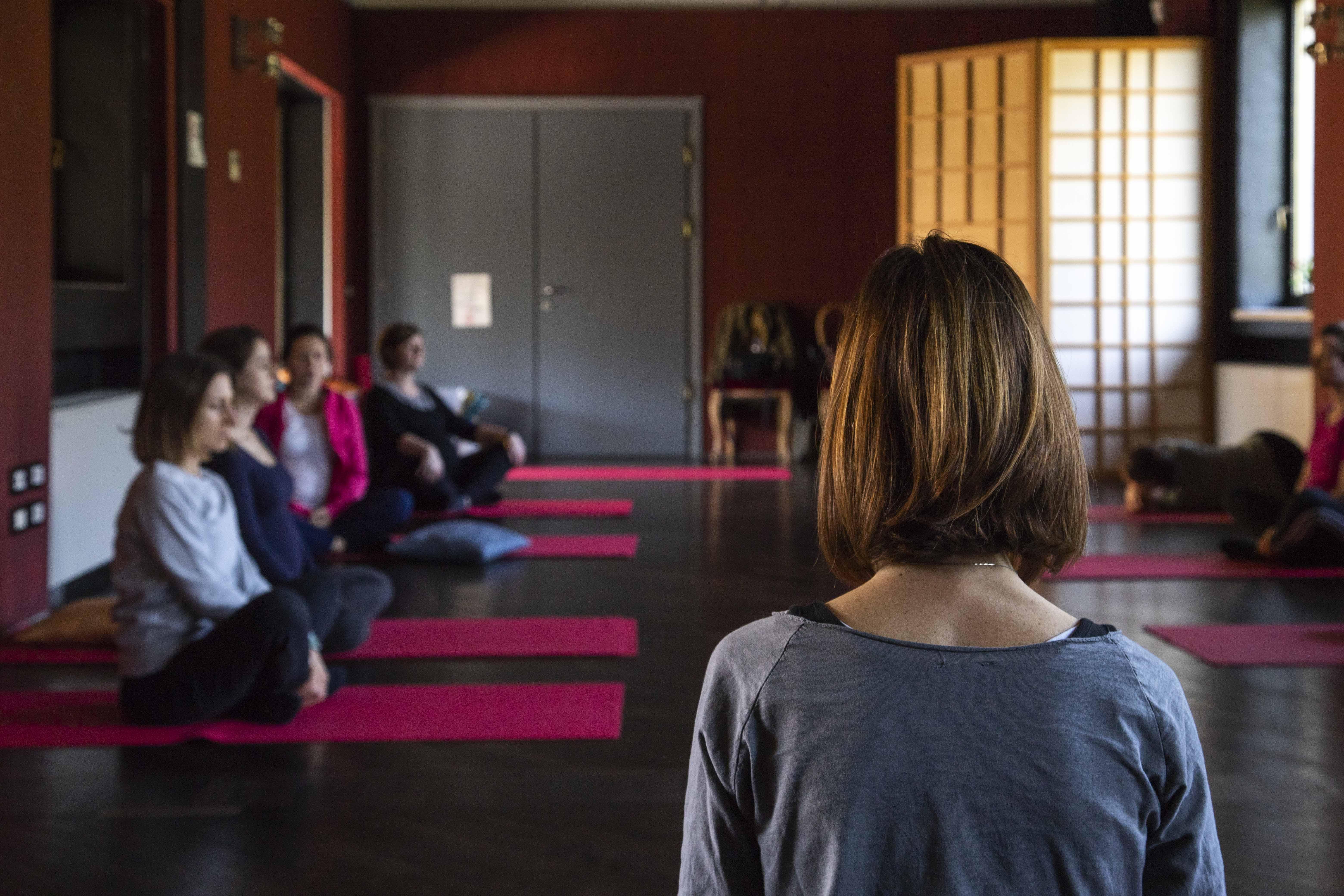 Corsi di yoga in gravidanza